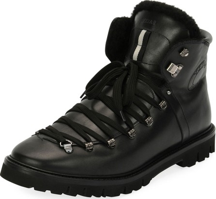 Bally Men's Chack Fur-Lined Hiking Boots