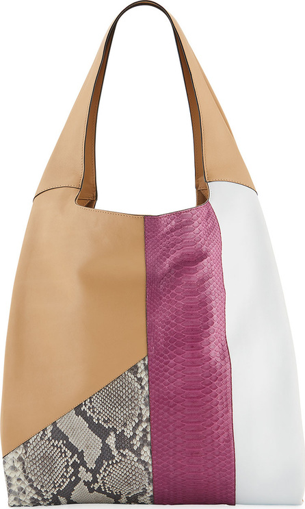 Hayward Grand Shopper Smooth Tote Bag, Neutral