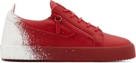 Giuseppe Zanotti Frankie Sanshow-print sneakers