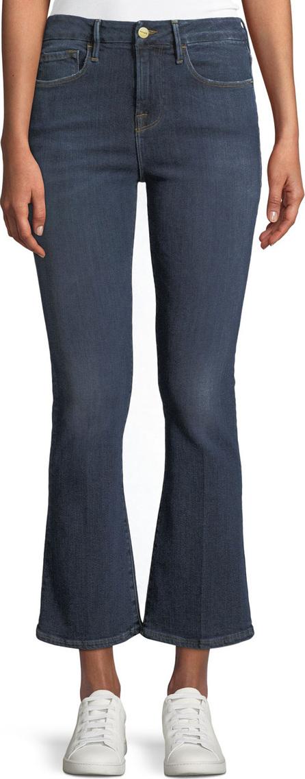 FRAME DENIM Le Crop Mini Boot-Cut Jeans, Spring Street