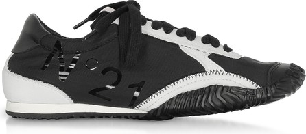 N°21 Strike Calf Leather & Synthetic Women's Sneakers
