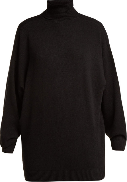 Balenciaga Roll-neck wool and cashmere-blend sweater