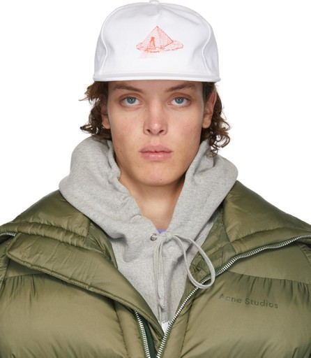Bianca Chandon White Pyramid Cap