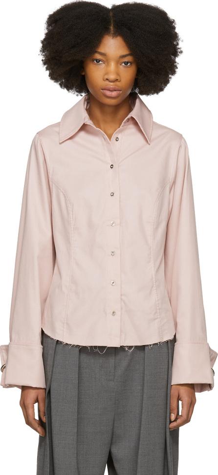 Marques'Almeida Pink Princess Line Shirt