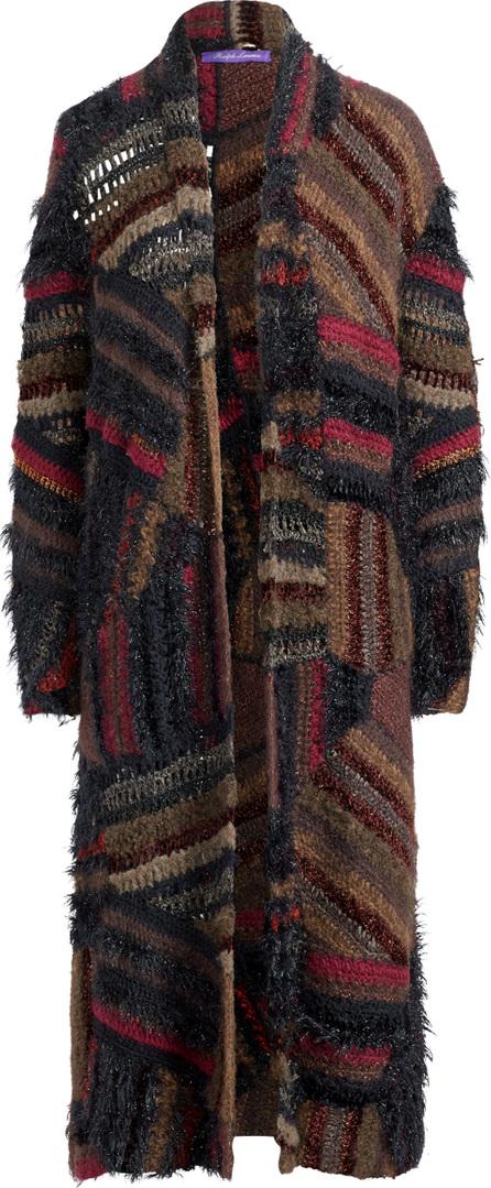 Ralph Lauren Open Coat Long Sleeve Sweater Cardigan