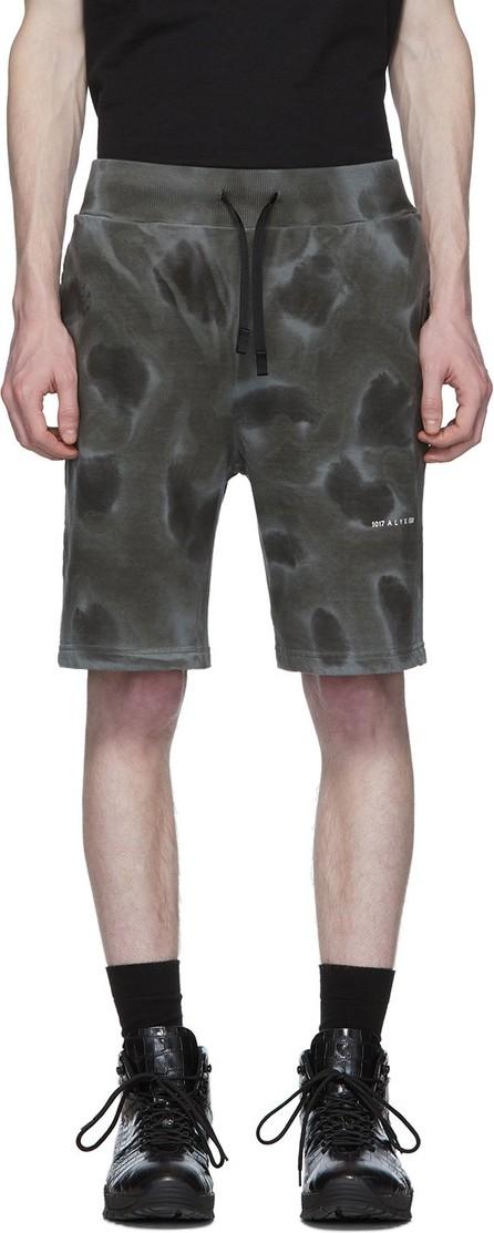 1017 ALYX 9SM Black Dyed Pattern Shorts