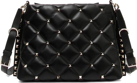 Valentino Candystud Quilted Leather Shoulder Bag