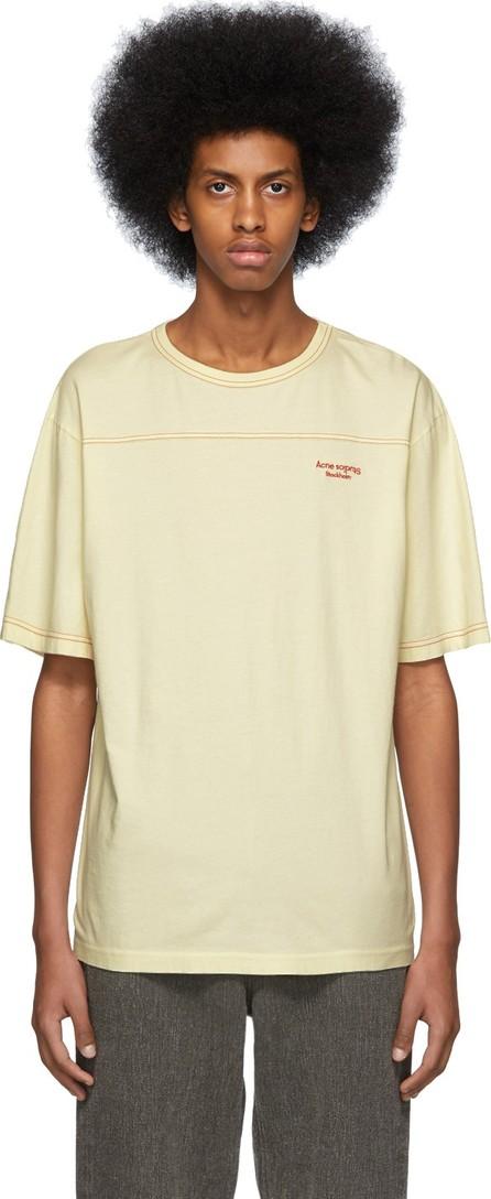 Acne Studios Beige Edwin Acid T-Shirt