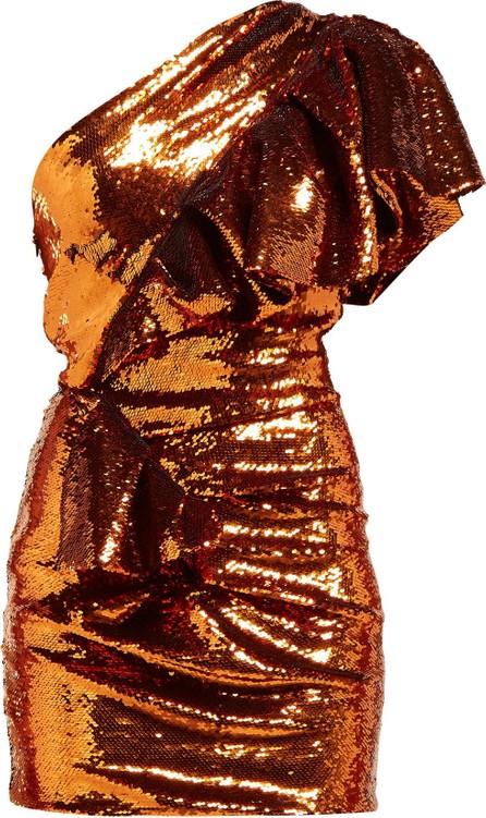 Alexandre Vauthier Asymmetric sequinned mini dress