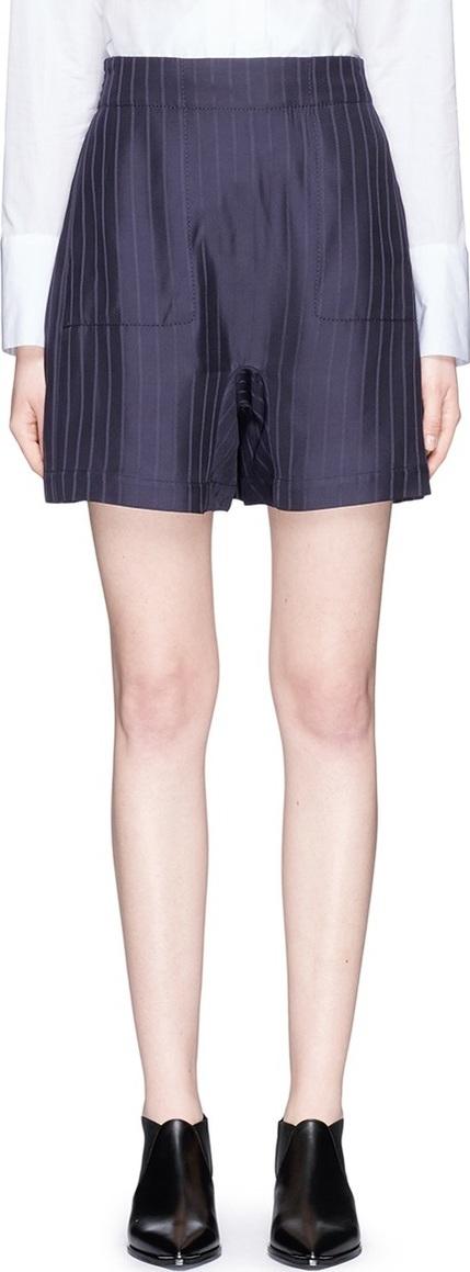 Acne Studios 'Sachi' stripe twill shorts