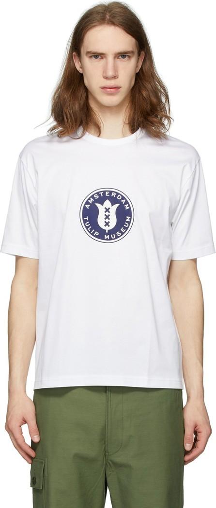 Junya Watanabe White 'Tulip Museum' T-Shirt