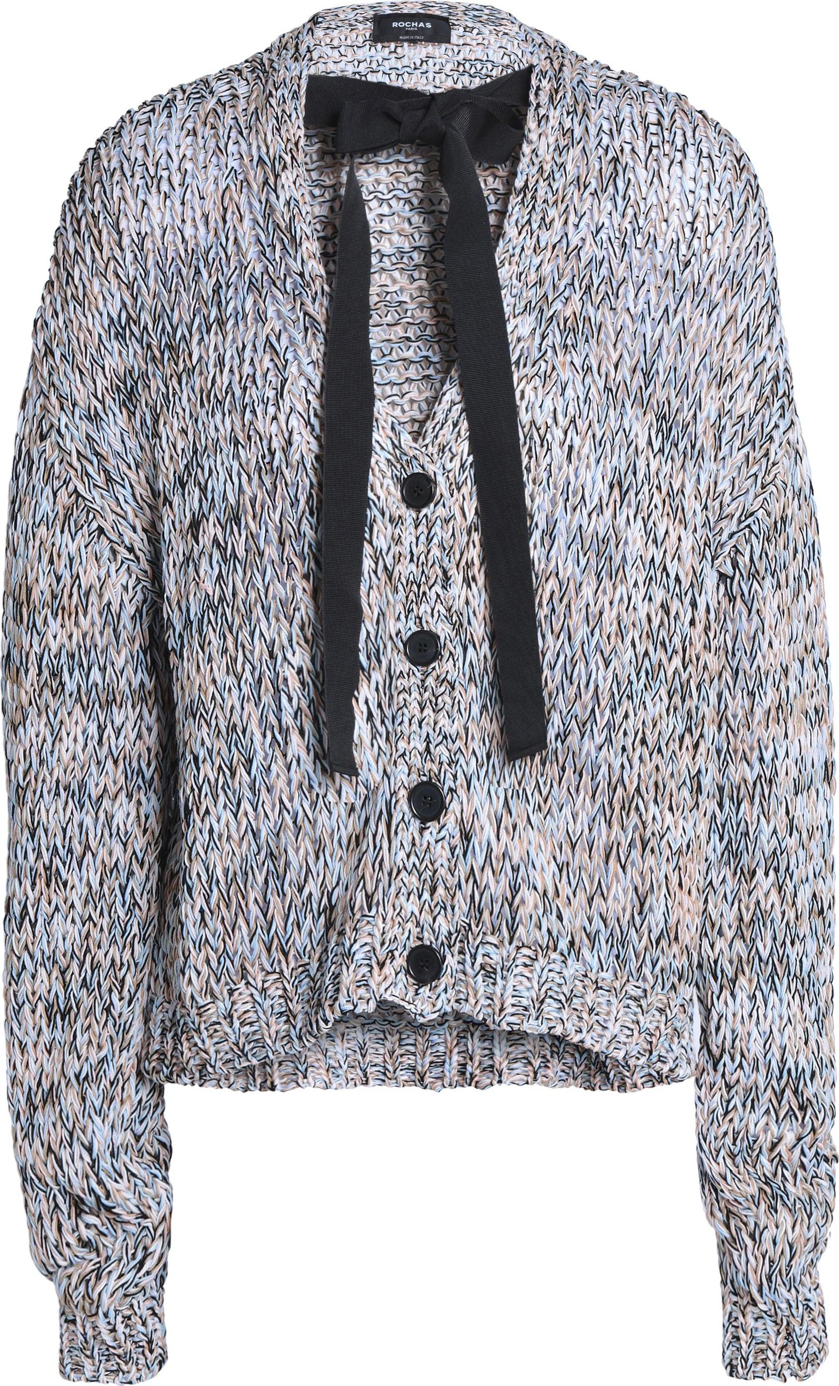 d51c1877ac ROCHAS Mélange cotton cardigan - Mkt