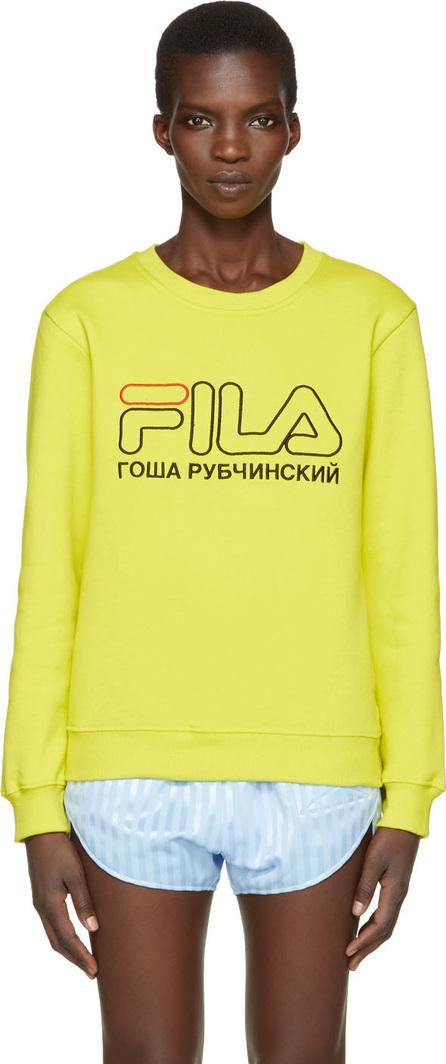 Gosha Rubchinskiy Green Fila Edition Pullover