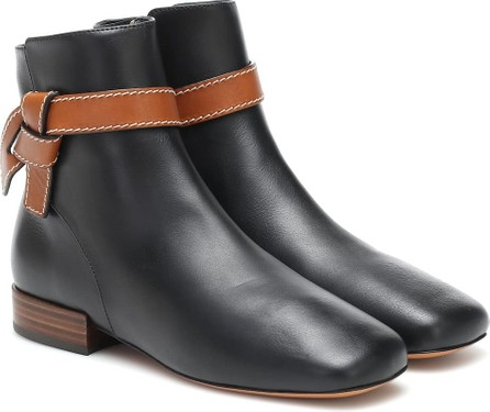 LOEWE Gate leather ankle boots