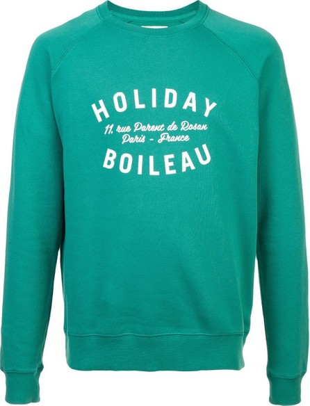 Holiday printed sweatshirt