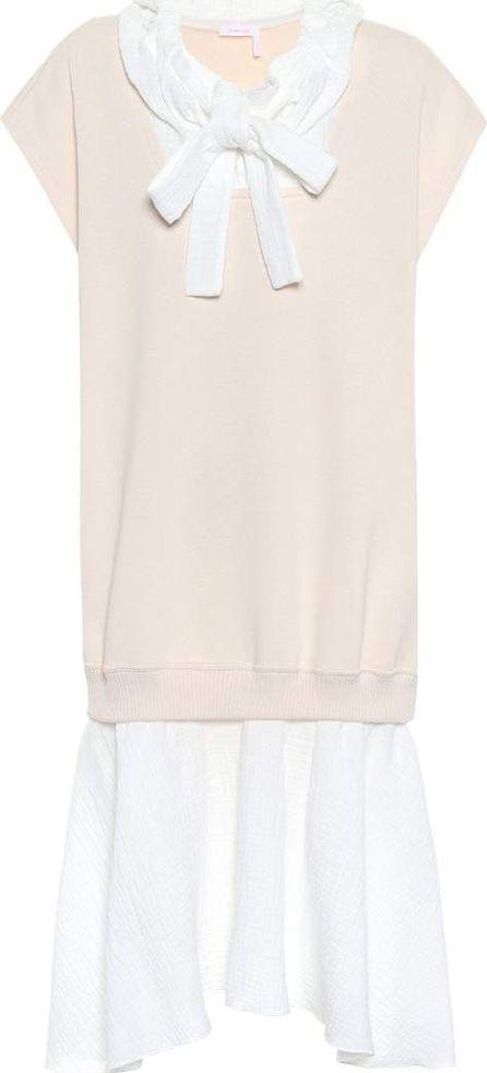 See By Chloé Cotton-blend dress