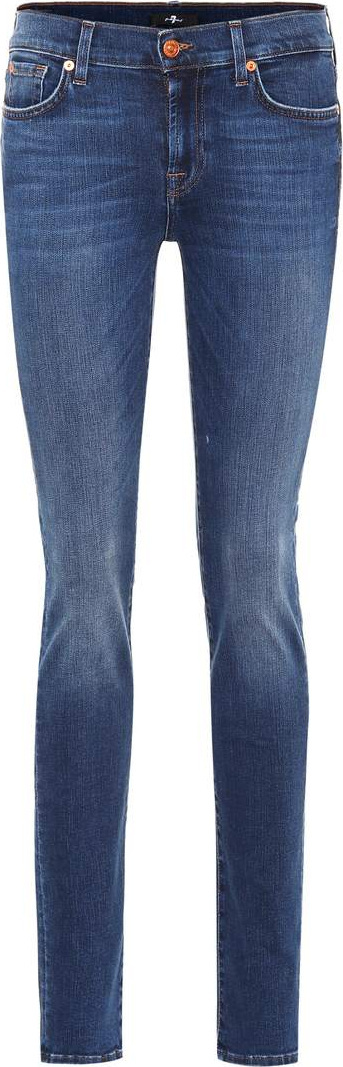 7 For All Mankind Roxanne Slim Illusion jeans