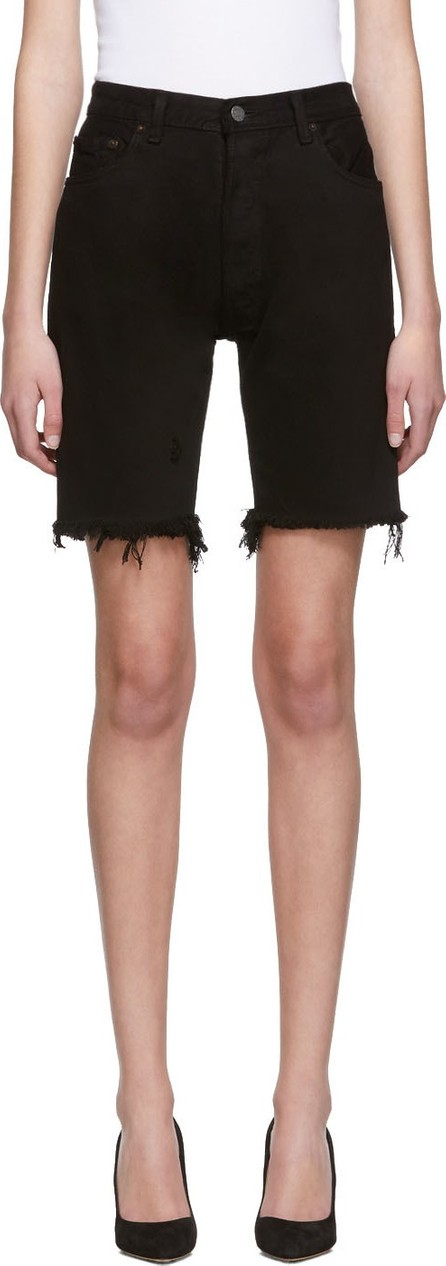 RE/DONE SSENSE Exclusive Black Levi's Edition 'The Long' Shorts