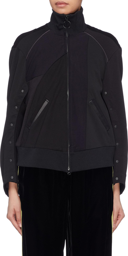 FACETASM Button sleeve panelled high neck jacket