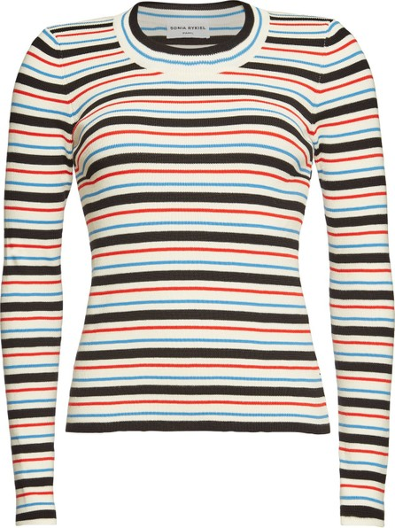 Sonia Rykiel Striped Pullover with Cotton