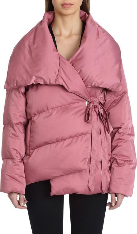 Avec Les Filles Wrapped Puffer Coat