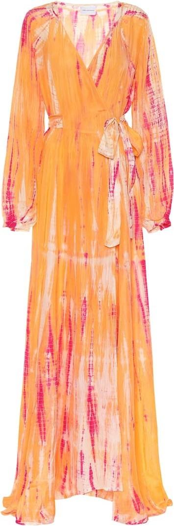 Anna Kosturova Exclusive to Mytheresa – Tie-dye silk maxi dress