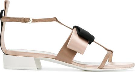 Lanvin Bow open-toe sandals