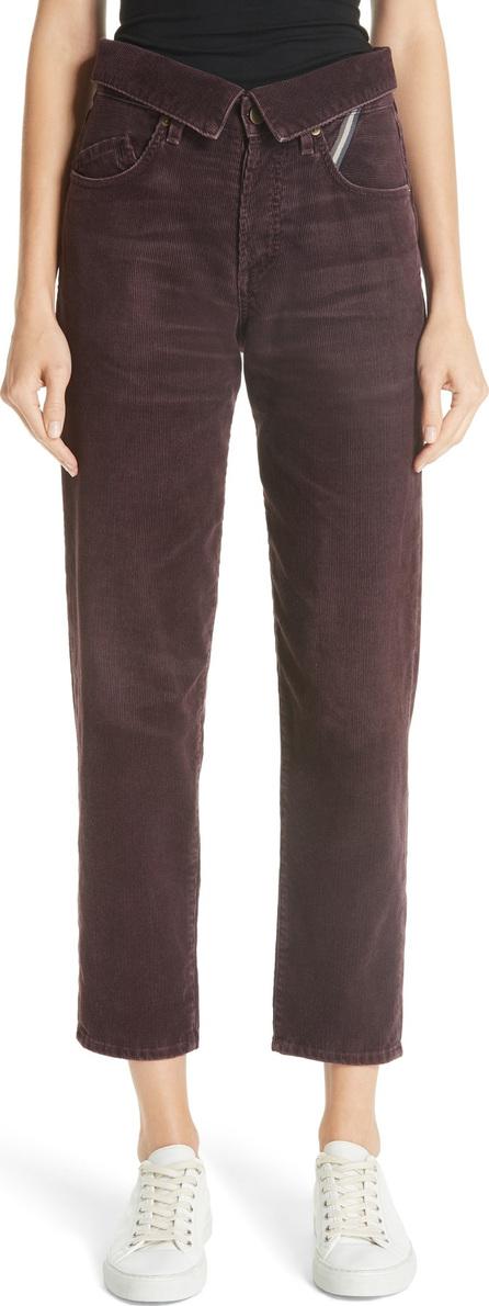 Jean Atelier Corduroy Flip Pants