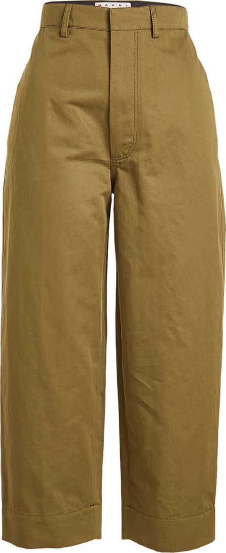 Marni Cropped Cotton Pants