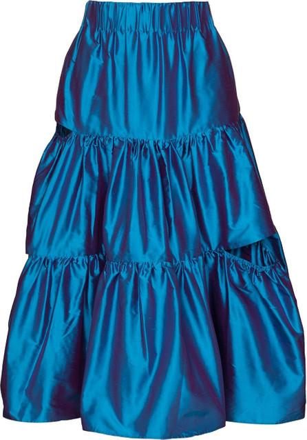 Marques'Almeida Ruffled midi skirt