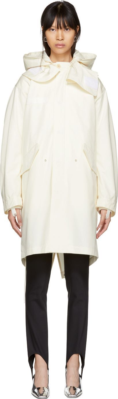 Helmut Lang Off-White Re-Edition Hooded Parka
