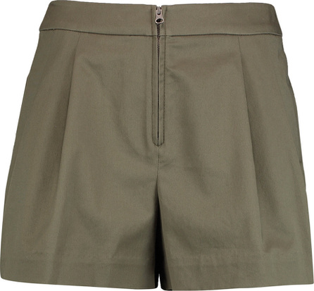 3.1 Phillip Lim Bloomer pleated cotton-blend shorts