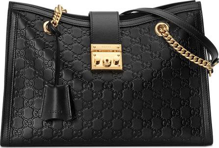 Gucci Padlock Gucci Signature medium shoulder bag