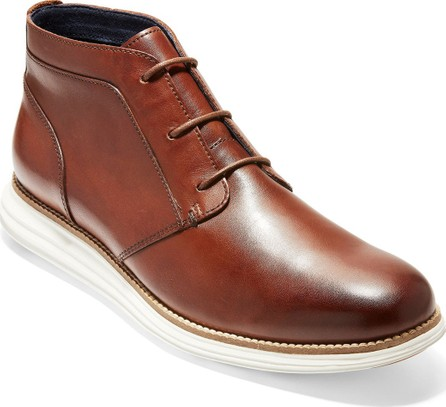 Cole Haan Men's OriginalGrand Leather Chukka Boots