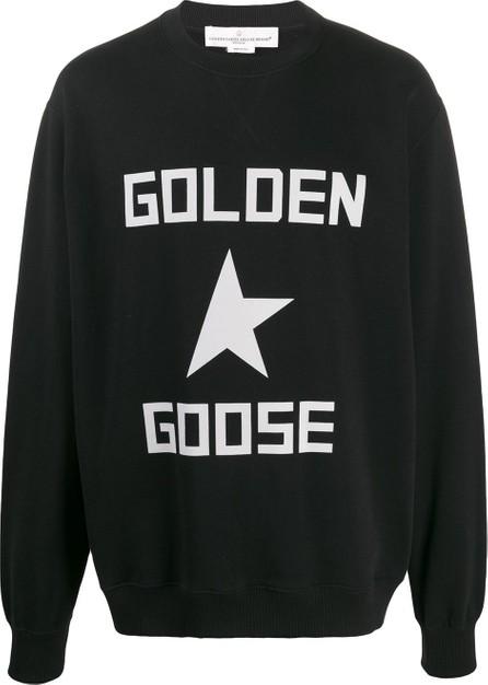 Golden Goose Deluxe Brand Oversized logo sweatshirt
