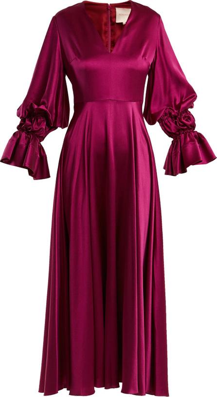 Roksanda Lavonne V-neck silk dress