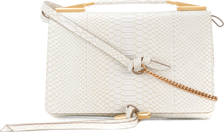 Stella McCartney Flo Alter Snake shoulder bag