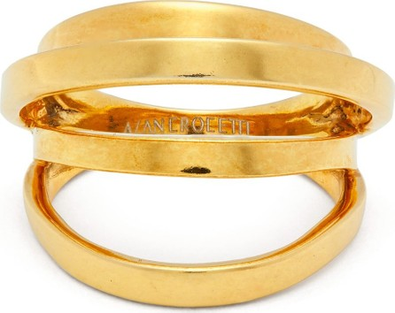 Alan Crocetti Gold-plated Space ring
