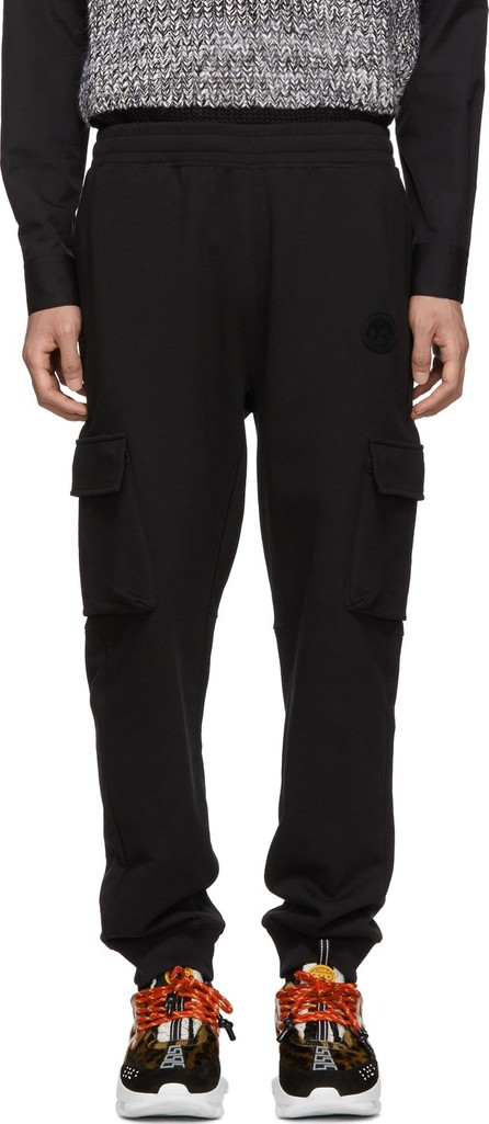 Burberry London England Black M Justley Cargo Lounge Pants