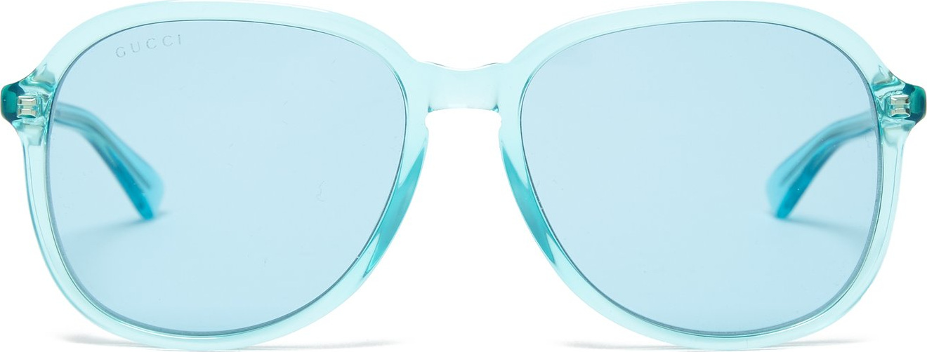 Gucci - Round-frame acetate sunglasses