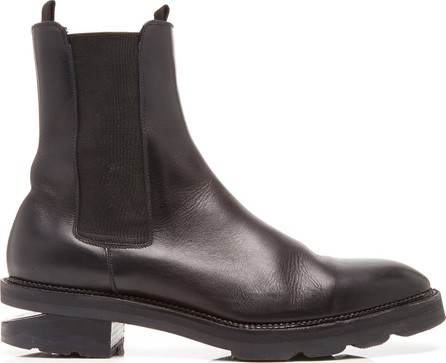 Alexander Wang Andee Cutout Leather Ankle Boots