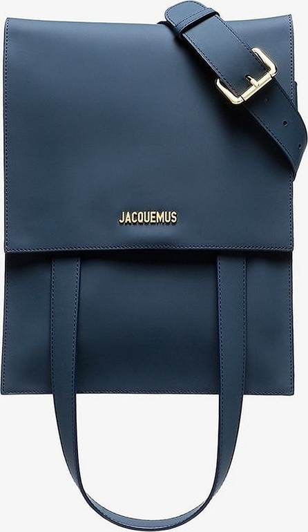 Jacquemus Blue Le Sac Murano leather belt bag