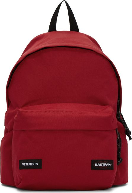 Vetements Red Eastpak Edition Tourist Convertible Backpack