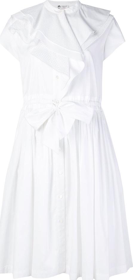 Lanvin Ruffle trim shirt dress