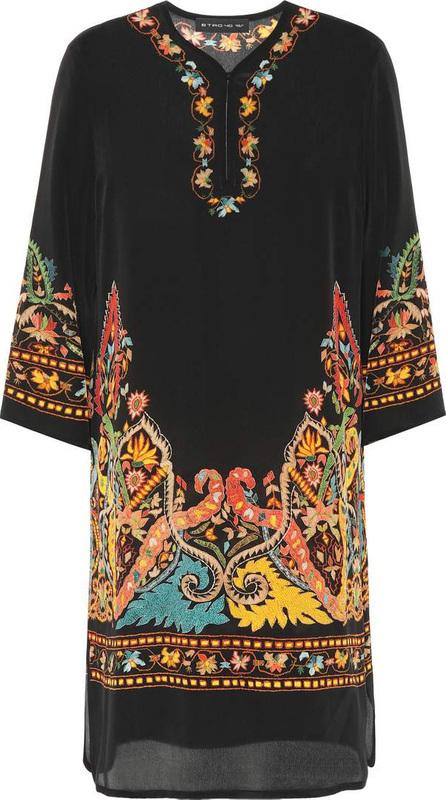 Etro Paisley-printed silk dress