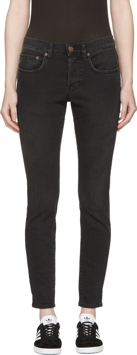 6397 Black Washed Black Boy Jeans