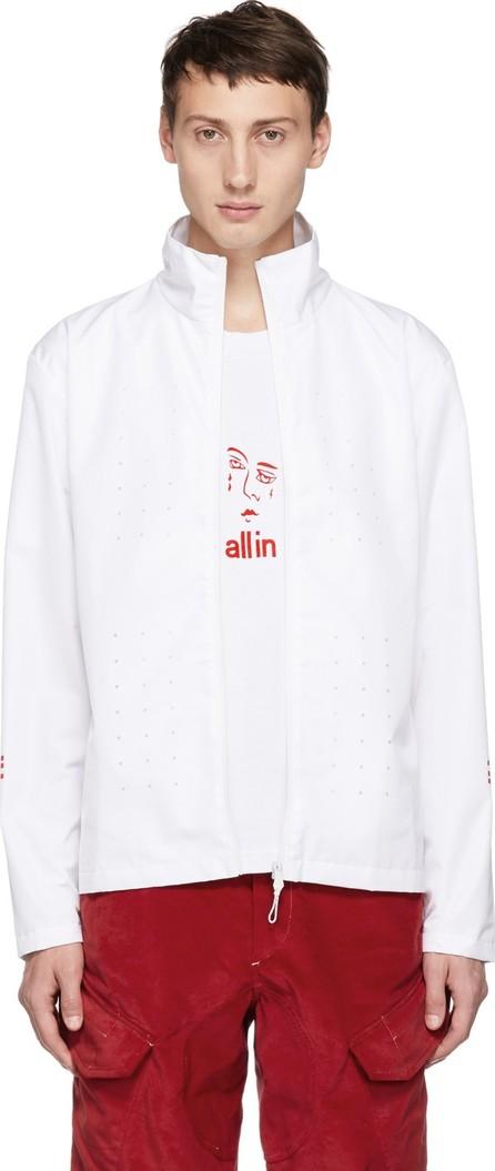 all in White Yokoama Jacket
