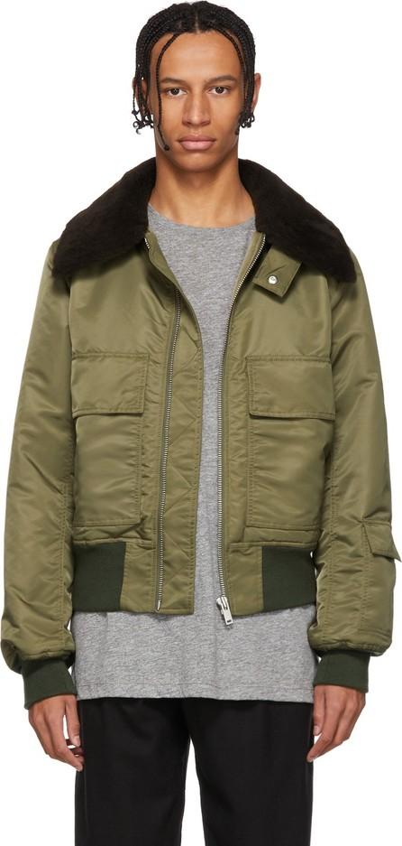 Etudes Green Expressionist Jacket