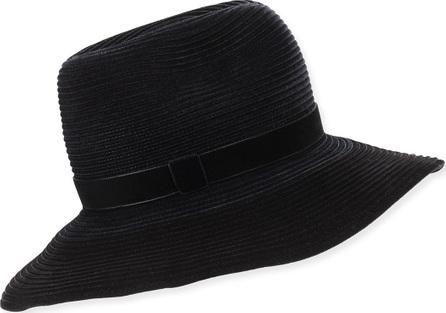Gigi Burris Constance Ribbed Velvet Hat