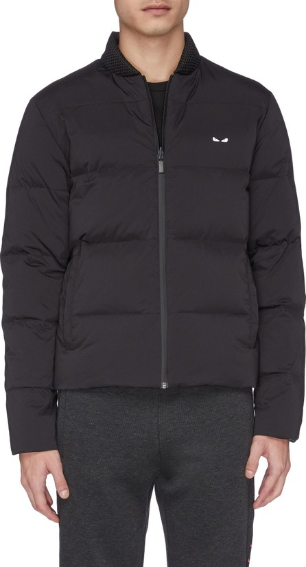 Fendi 'Bag Bugs' embroidered reversible down puffer jacket